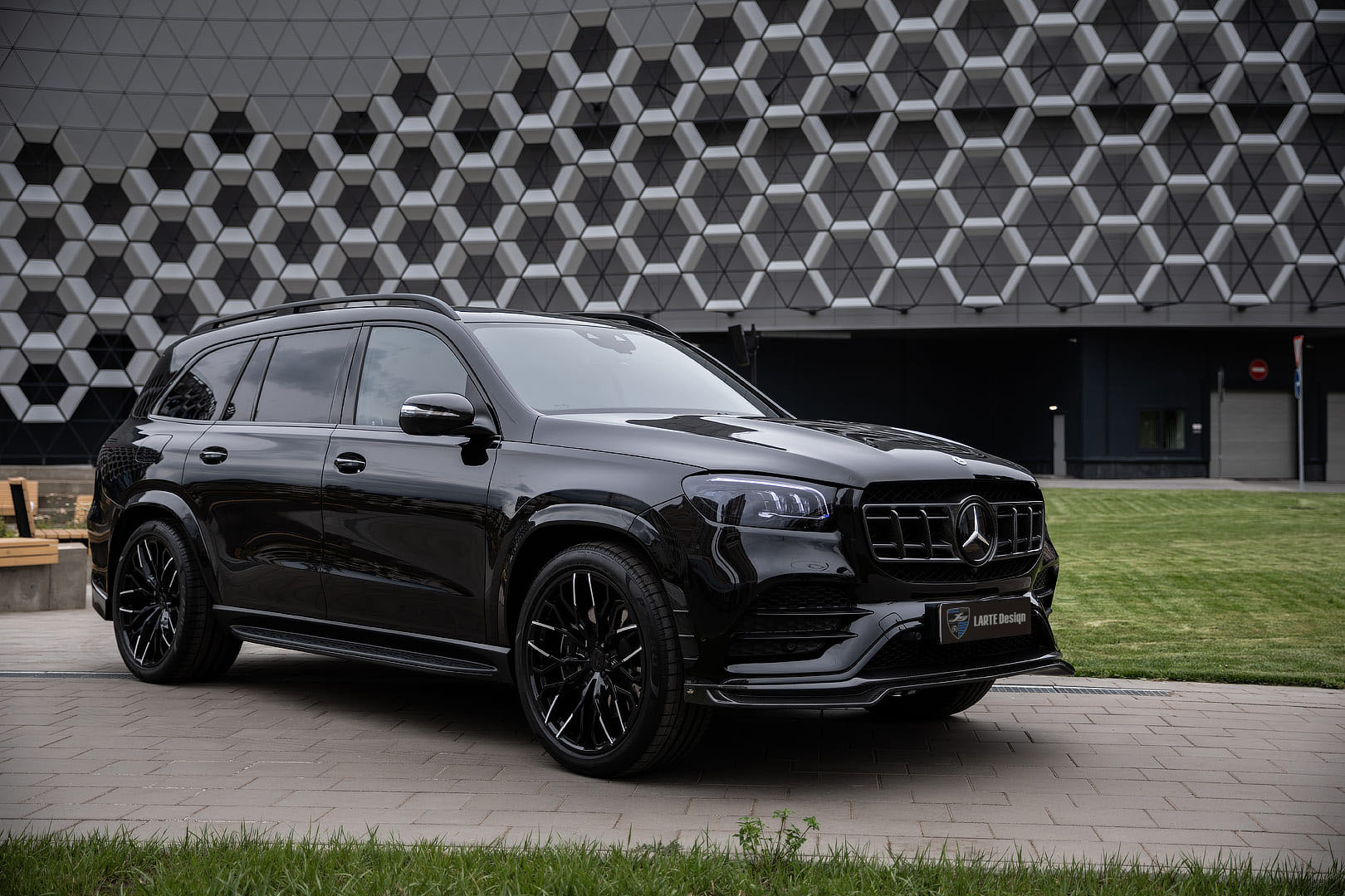 Рестайлинг Mercedes-Benz GLS X167 | Larte Design